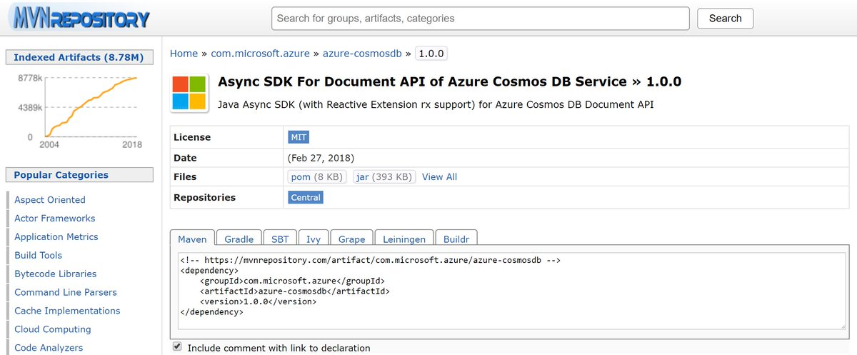 Azure Cosmos DB on Twitter: