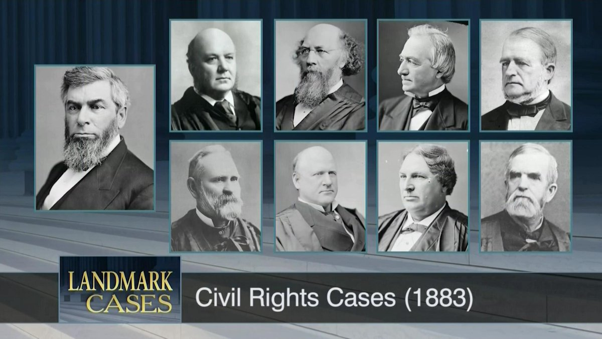 the civil rights cases of 1883 essay Civil rights act of 1875: summary demise in 1883 when the united states supreme court ruled that the law was unconstitutional during the civil rights cases.