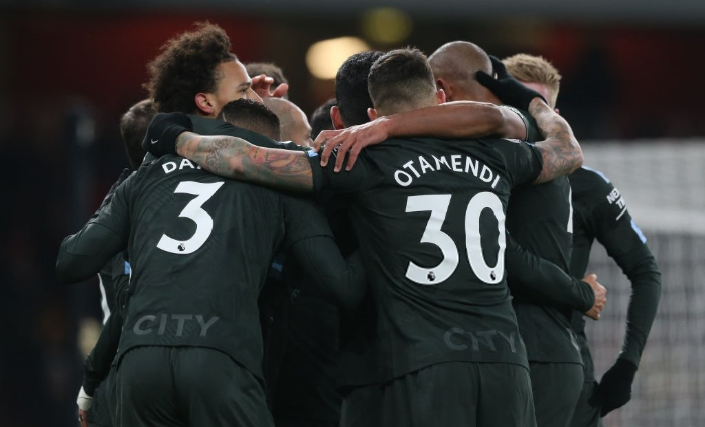 DXPE6EiXcAAmTo4 - Favourites Manchester City Thump Wenger Brigade In Their Own Den: Players' Ratings
