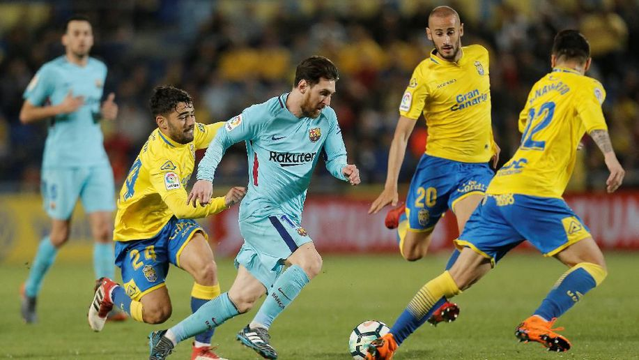 Video: Las Palmas vs Barcelona
