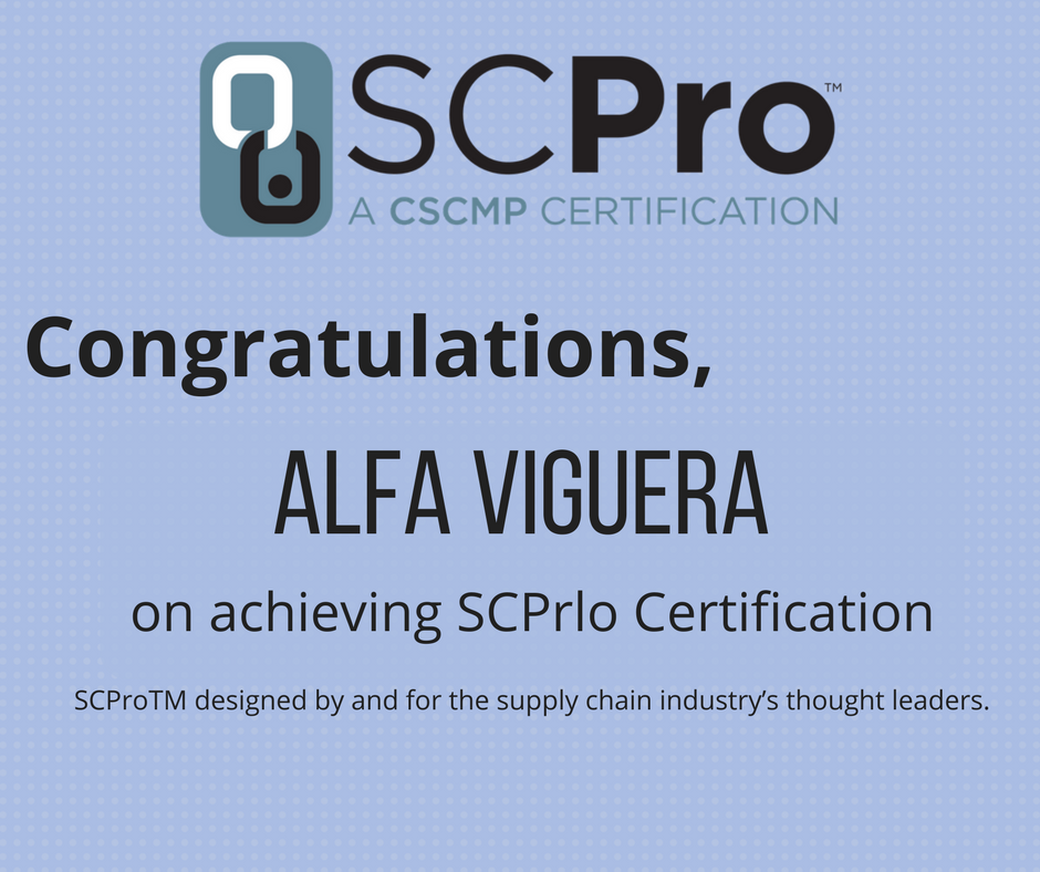 Cscmp On Twitter Congratulations Alfa Viguera On Achieving Scpro