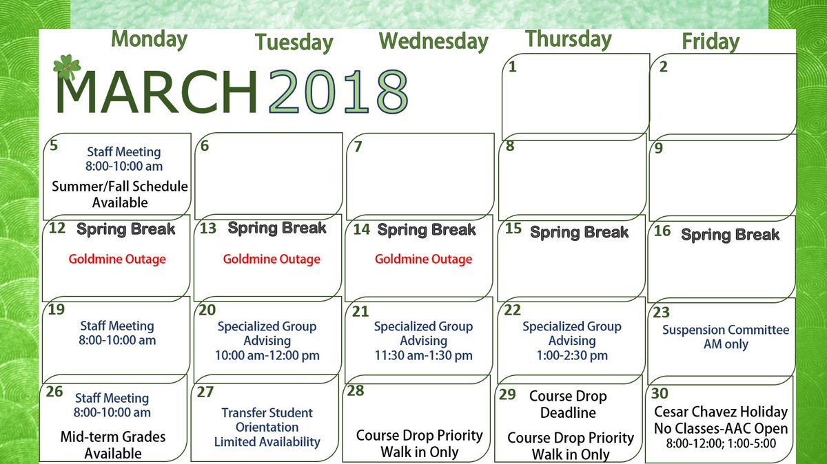 Utep Calendar.Utep Advising Center On Twitter What S Happening With The Academic