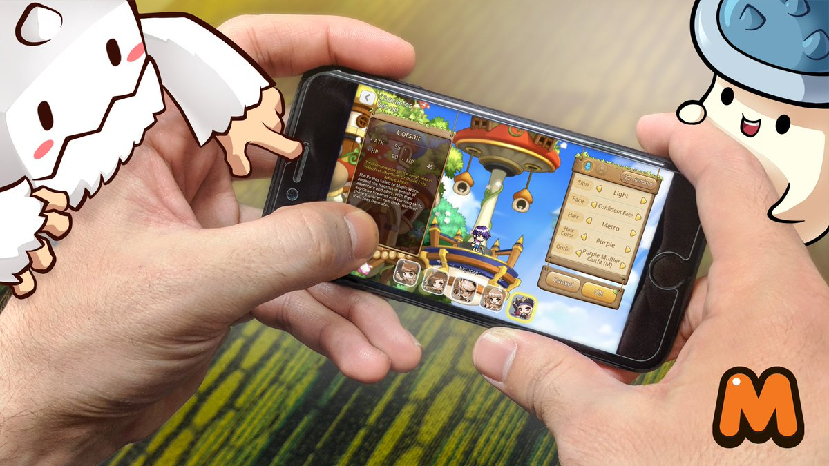 maplestory m mod apk android 1