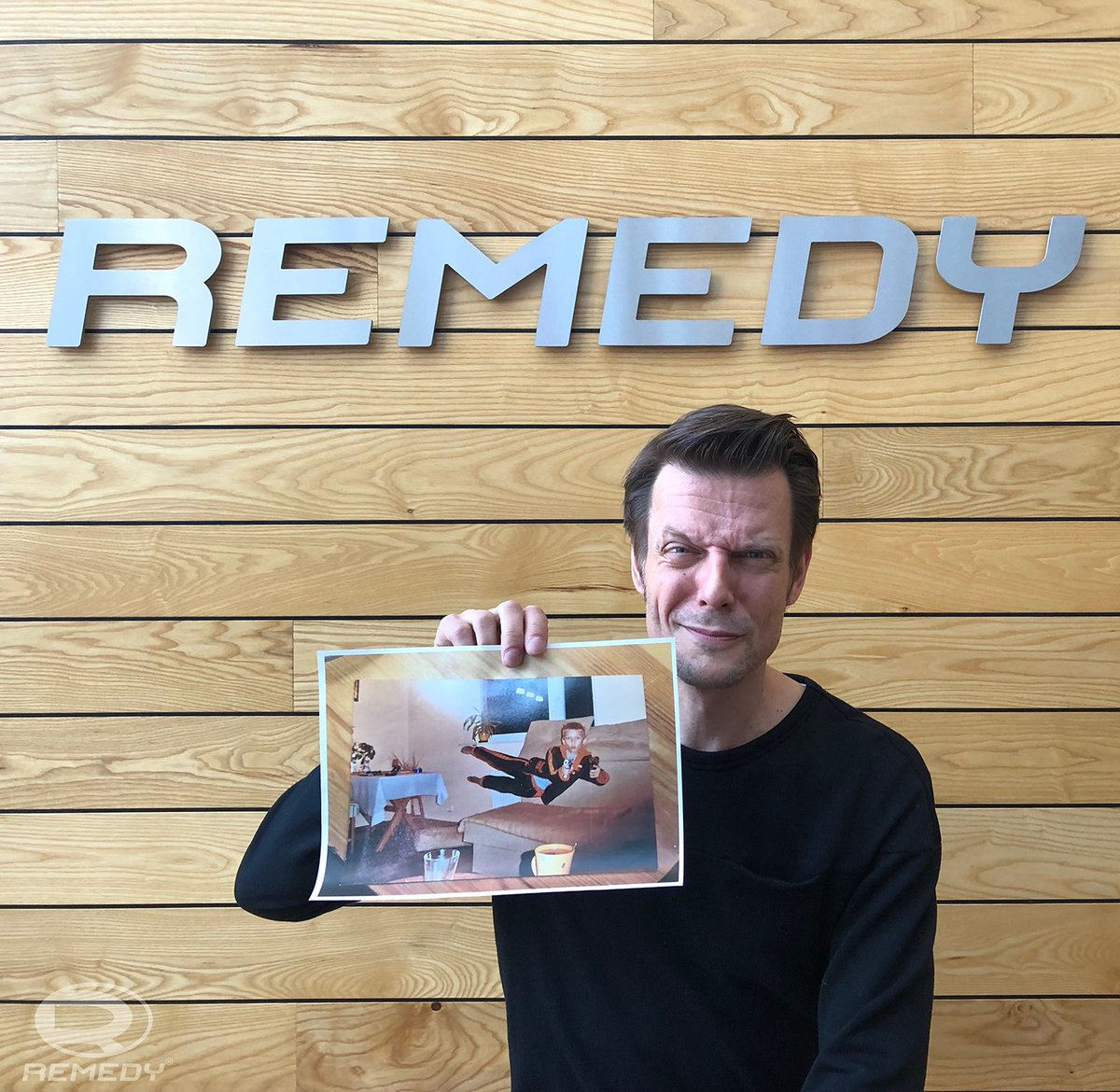 Remedy Entertainment On Twitter Hey Guess What He Loves It