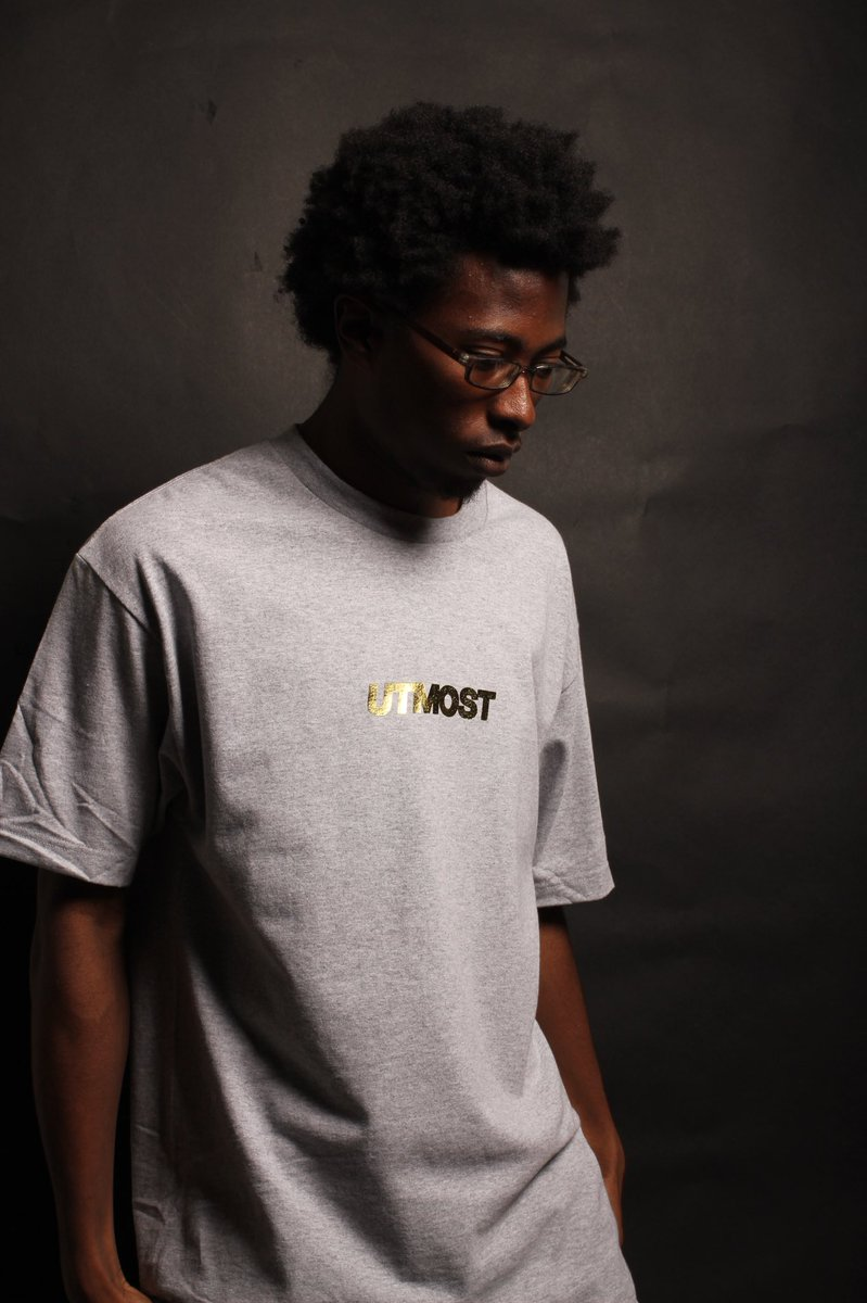 fe8c6707 ... gold foil Solid Logo tees will be available this Saturday in-store in  LA and online at 12pm EST at http://utmostco.com pic.twitter.com/qkg7Q2gJlf