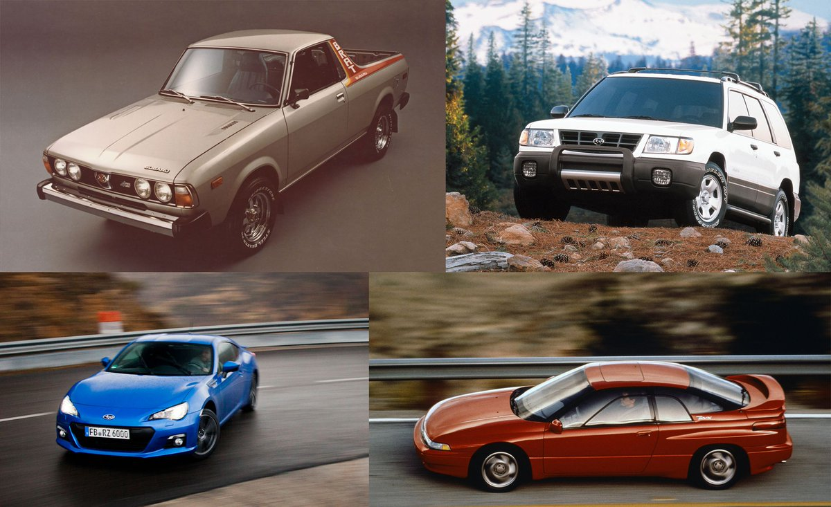 Car And Driver On Twitter A Visual History Of Subaru Usa S 50