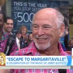 Jimmy Buffett on the Today Show - https://t.co/lIxBlGQqjk