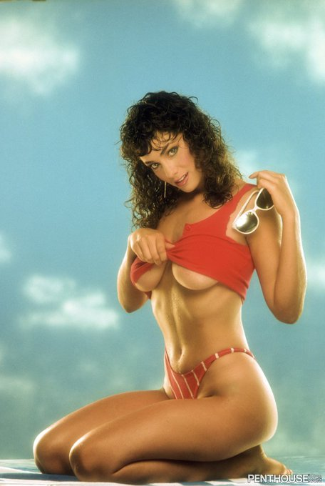 #TBT Brittany Dane, #PenthousePet of the Month Feb. 1985 https://t.co/uqbE250y4R