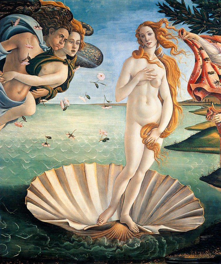 aphrodite goddess painting - HD1080×1350