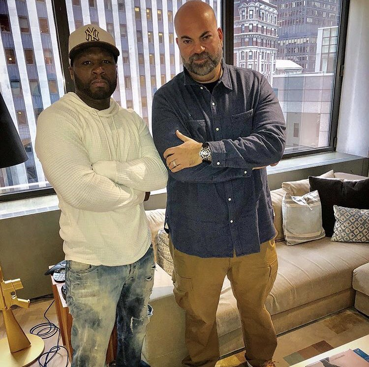 l met wit the BOSS at defJam today. My man said what ever l need l got it. @rosenberg https://t.co/9YODEccbwV
