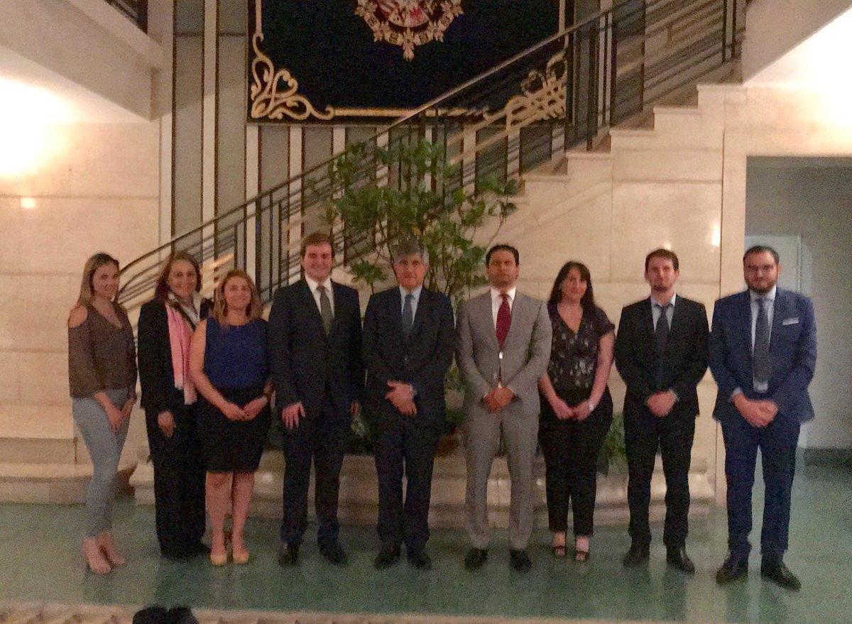 ¡Comenzamos el Campus Electoral Iberoamericano en El Salvador! Gracias al Embajador de España D. Federico de Torres Muro por el  recibimiento en su residencia.