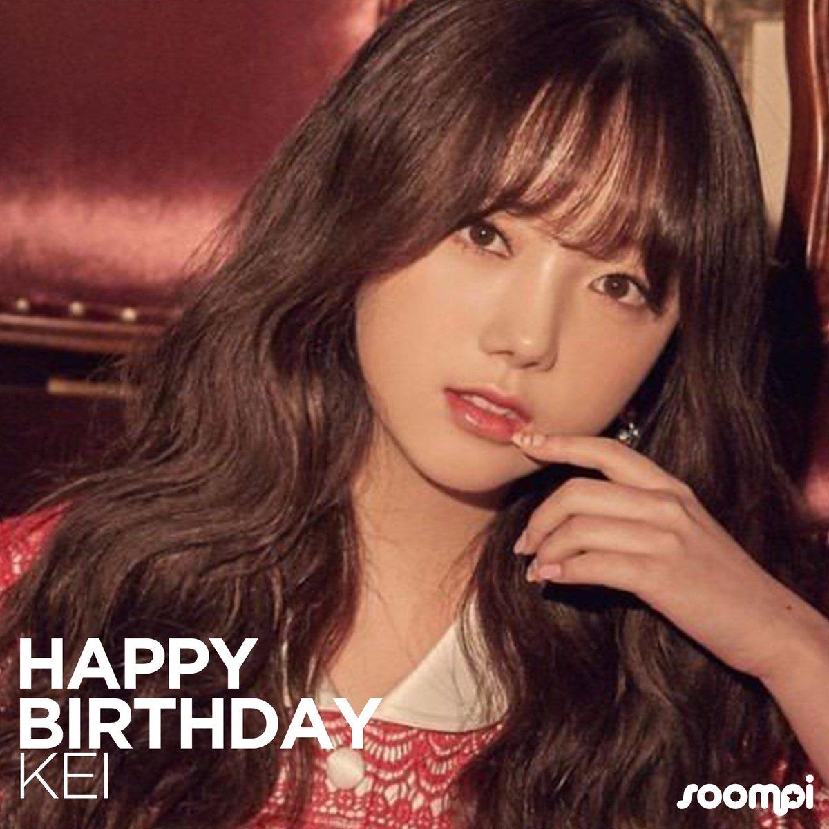Happy Birthday to #Lovelyz's Kei! #Happy...