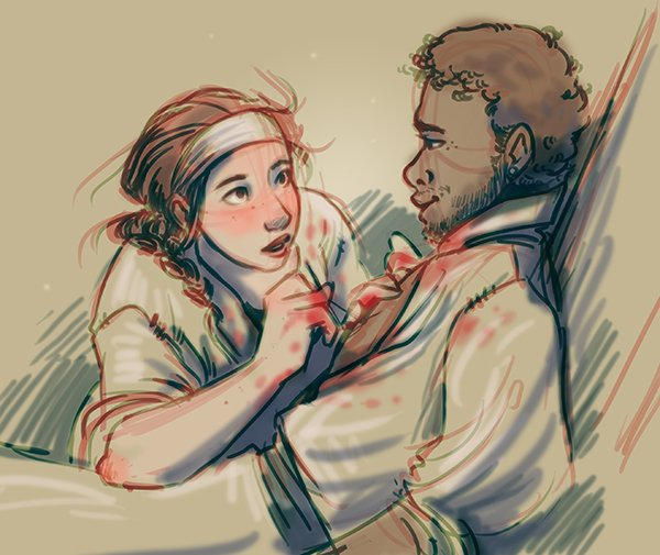 Risultati immagini per children of blood and bone fanart