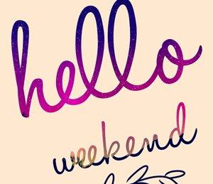 Happy weekend! Wir wünschen allen ein...