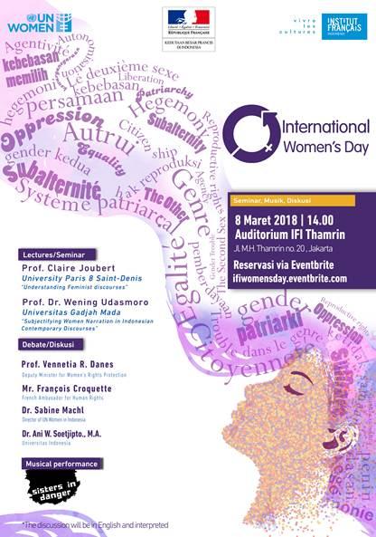 "Résultat de recherche d'images pour ""ifi jakarta international women's day 2018"""