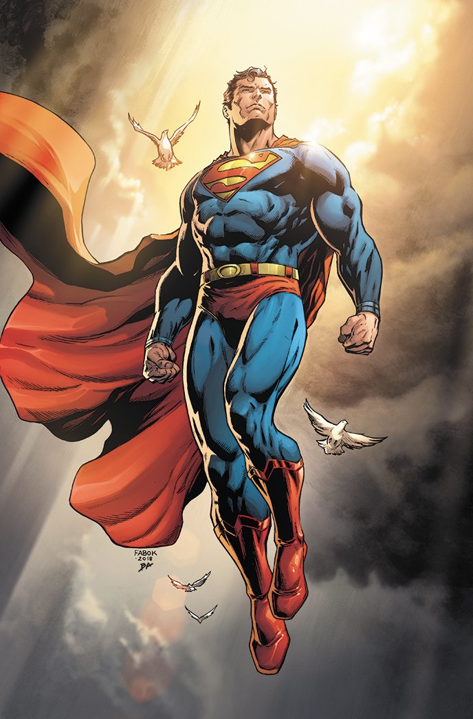 Jason Fabok Action Comics #1000 - Variant Cover with Yesteryear Comics