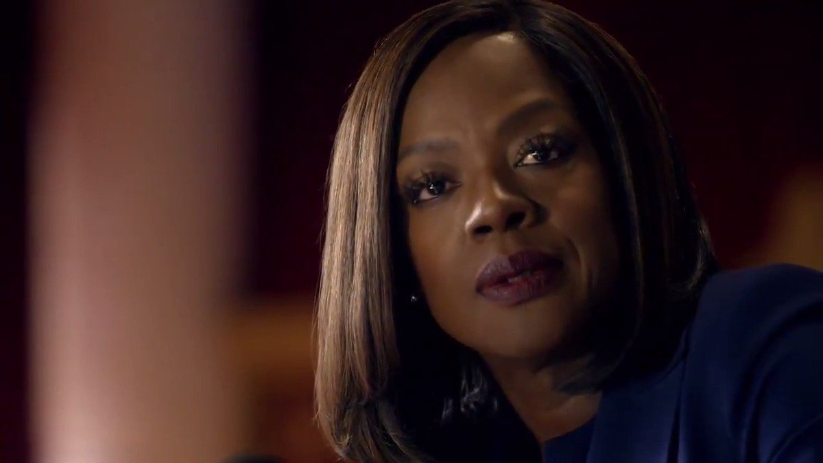 """Racism is built into the DNA of America and as long as we turn a blind eye to the pain of those suffering under its oppression, we will never escape those origins"" -Annalise Keating #HTGAWM"