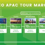 Image for the Tweet beginning: NEO APAC starts tomorrow! There