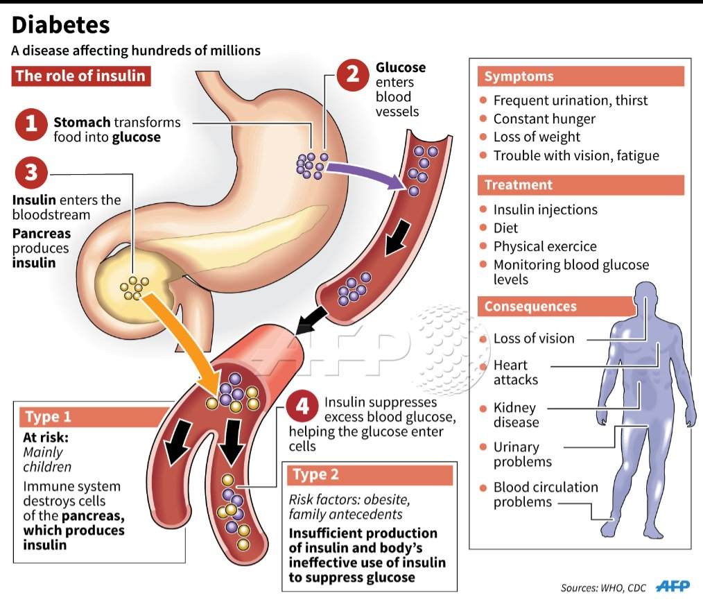 Diabetes Threatens Kidneys, Vision of Millions of Americans recommend