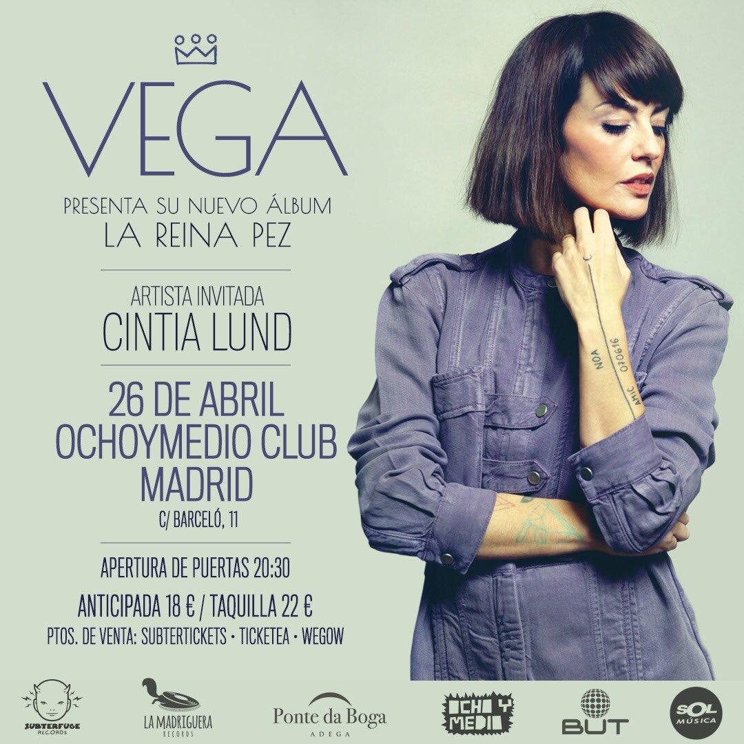 """Vega >> álbum """"La Reina Pez"""" - Página 5 DXR5e8vW0AEjq_S"""