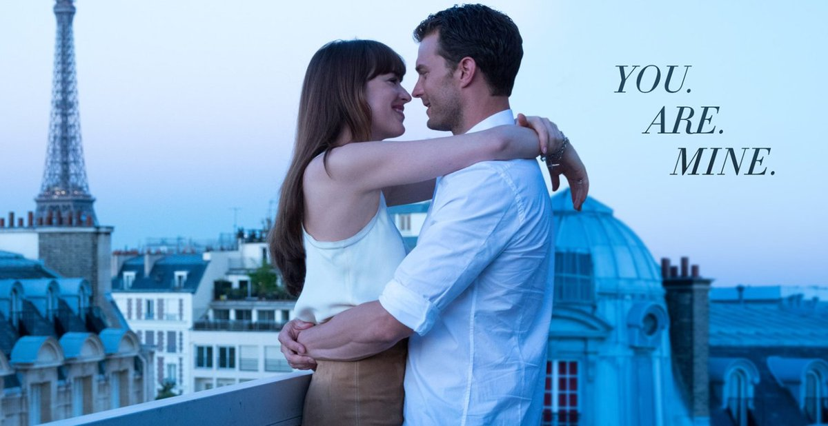 Weekend plans? Make a date to see #FiftyShadesFreed 💕