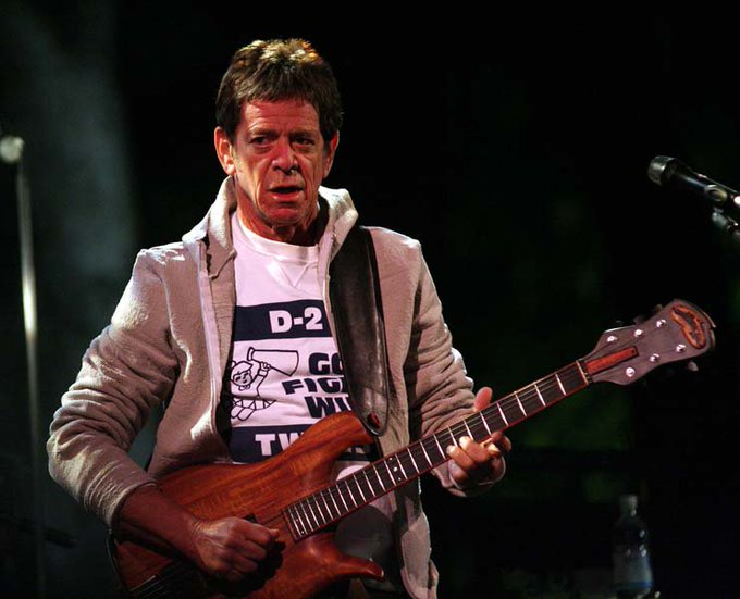 2 marzo 2018 - Lou Reed 76h  Happy Birthday Lou, 4ever in my heart <3