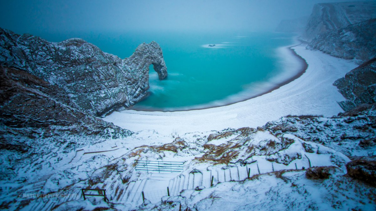 BBC Earth on Twitter  A snowy Durdle Door on the Jurassic Coast Dorset #EarthCapture by @NaturehawkPhoto //t.co/u7I12CMwom  & BBC Earth on Twitter: