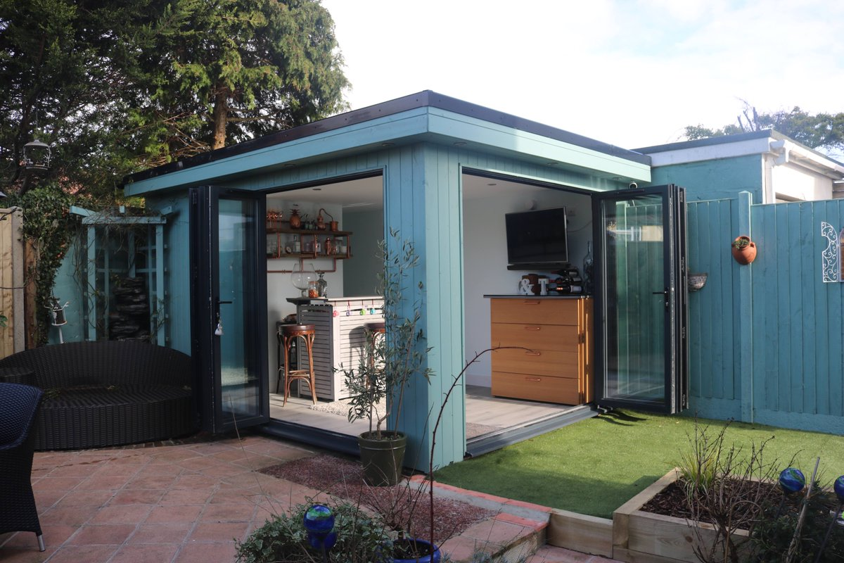 ... Your #miniaturemanors #gardenroom Design? Our Clients In #Brighton Did,  And The Result Is A Stunning Garden Bar To Start The #weekend In Style! ...