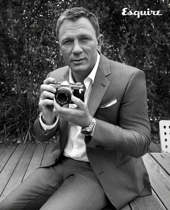 Happy Birthday Daniel Craig. My Bond