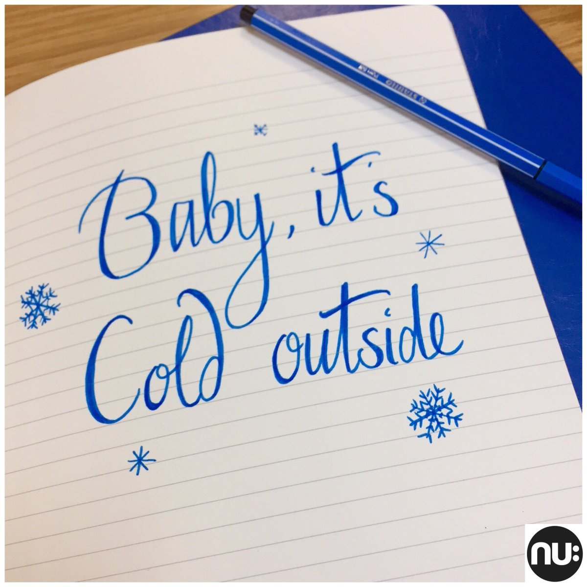 Brrrrr, its cold ❄️☃️ that's our #Friday...