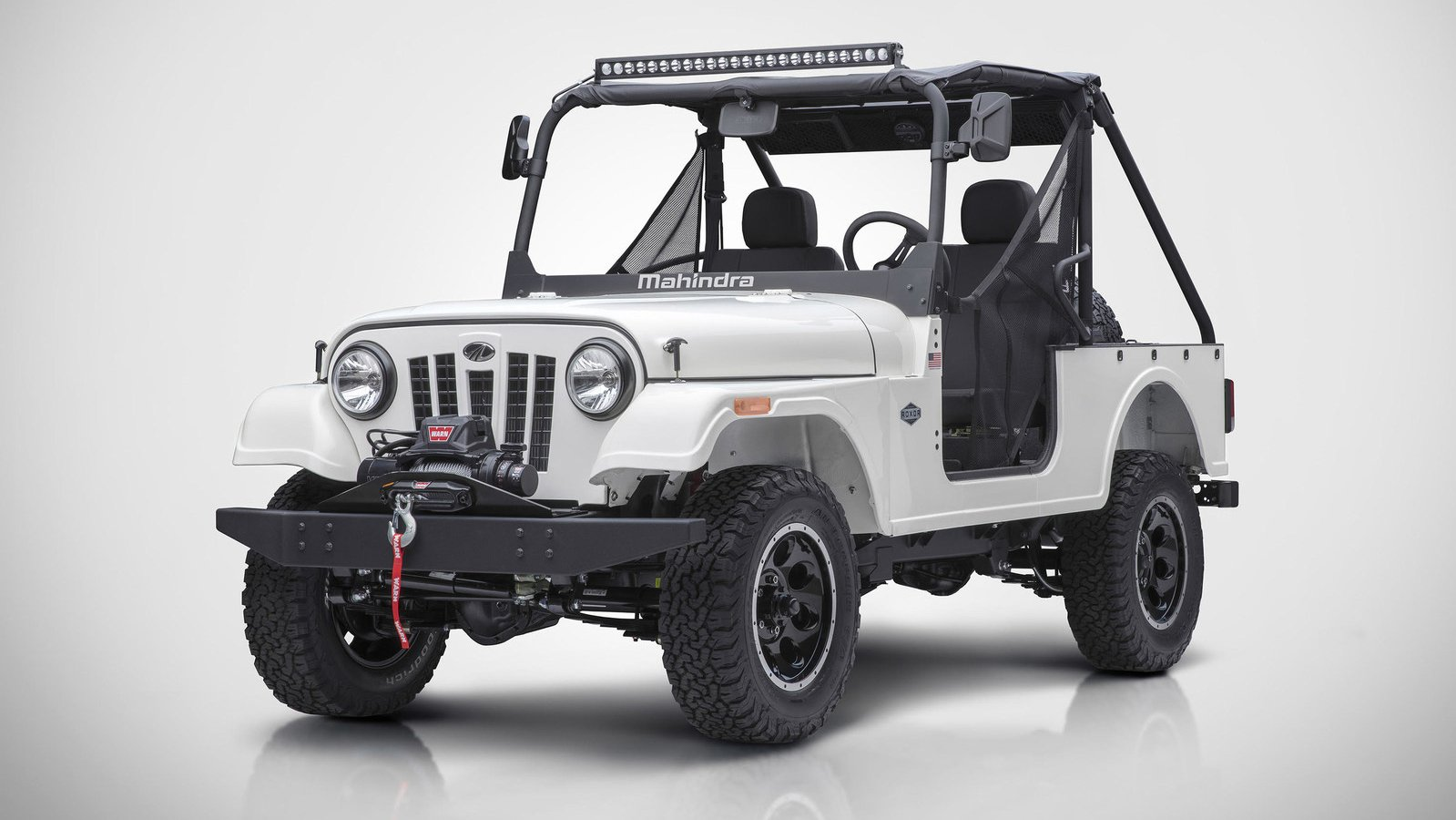 Mahindra Launched Off Road SUV Roxor in United States