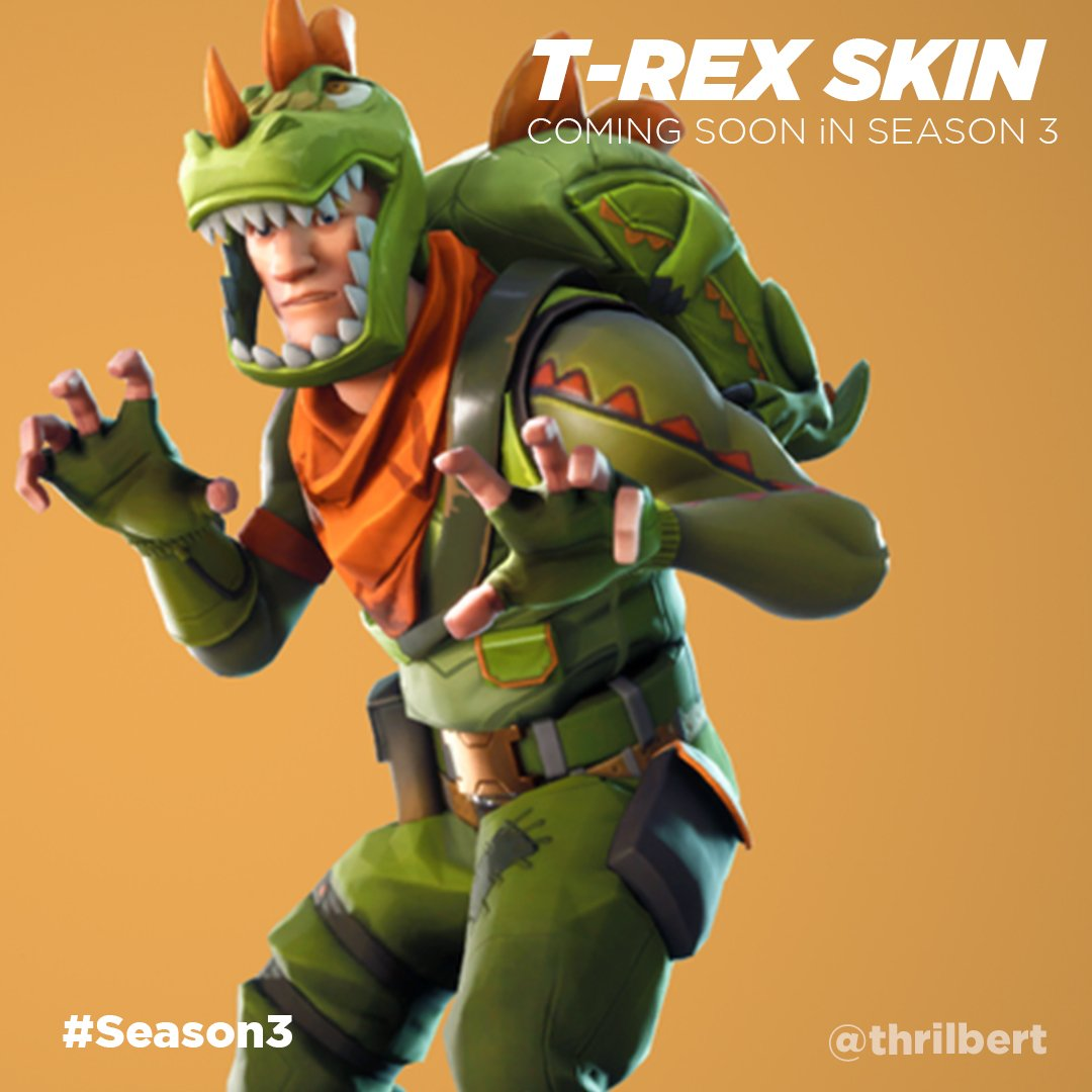 "thrilbert on Twitter: ""T-REX SKIN COMING SOON - New skins ..."