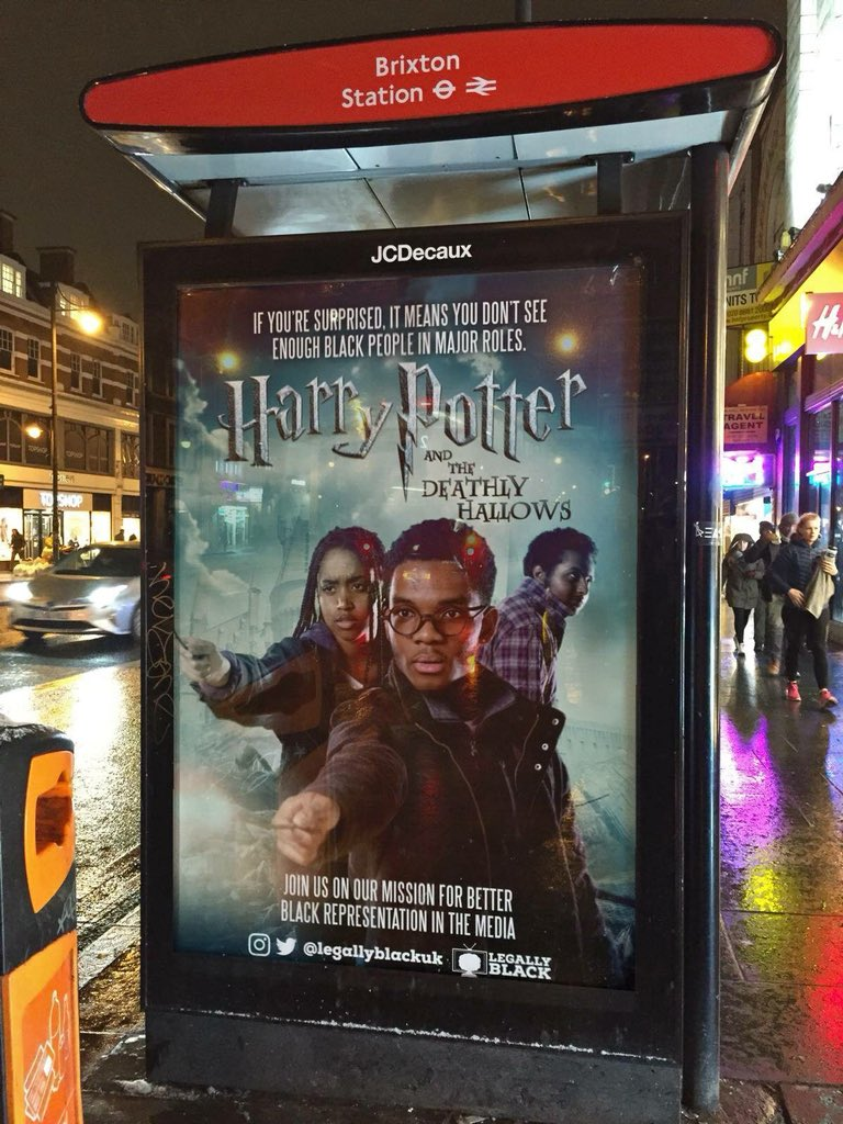 Image result for black harry potter legally black