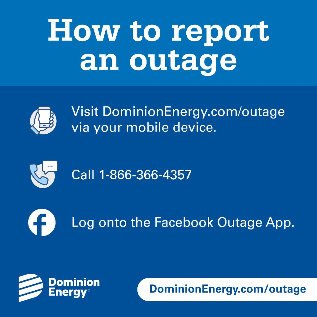 on dominion outage map