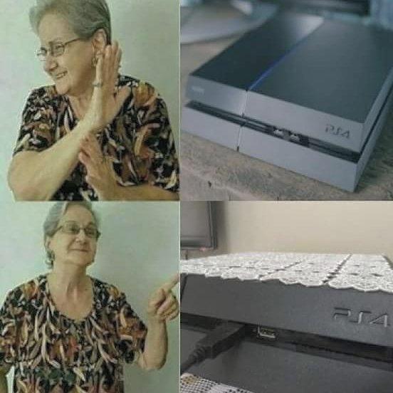 PS4 grandma