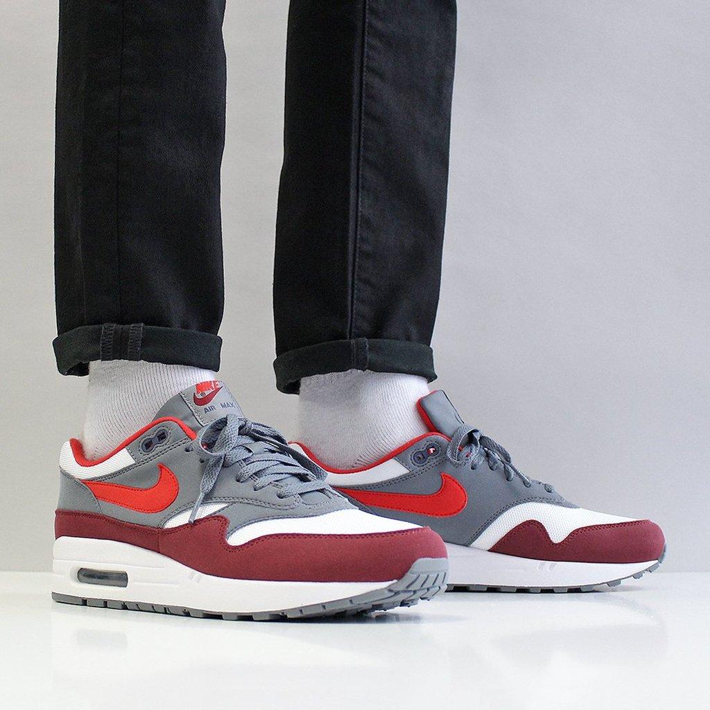 air max 1 university red cool grey