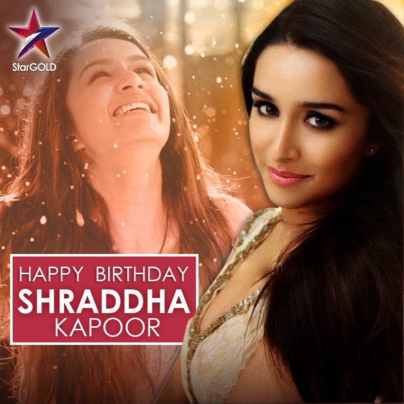 Hero ho ya 'villain', she's won over every dil. Wishing the beautiful @ShraddhaKapoor a very Happy Birthday!