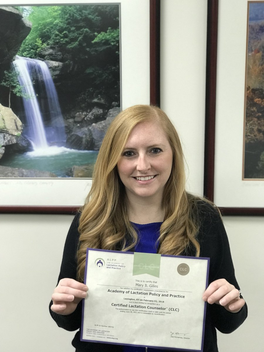 Lexky health dept on twitter hear mary beths radio debut received her certified lactation consultant certification check out her pictures to learn why shes excited to share this with lexington 1betcityfo Choice Image
