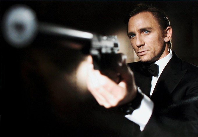 Happy Birthday Daniel Craig - Looking forward to see you in