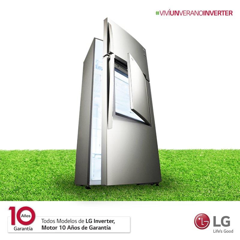 A diferencia de los focos convencionales, la iluminación LED de los refrigeradores LG Inverter consumen menos energía e iluminan mejor el interior. 💡  Es solo una de las miles de ventajas de una experiencia excepcional para vos y tu hogar. #VivíUnVeranoInverter https://t.co/tJtGncioB8