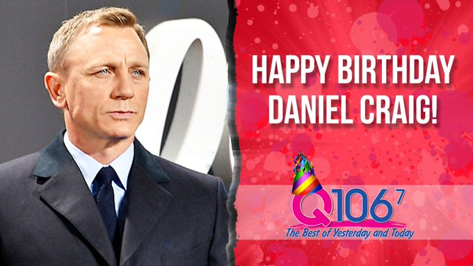 Craig. Daniel Craig is 50 today! Happy birthday to one of our favorite Bonds of all time!