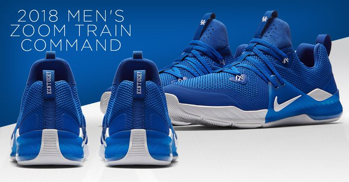 5350ddb18139 JUST RELEASED  2018 Kentucky Nike Men s Zoom Train Command! These are  expected to sell