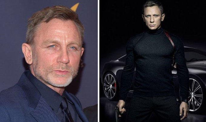 Happy 50th Birthday to Daniel Craig. Next year, he will become only the 2nd Bond actor to play the role in his 50s.