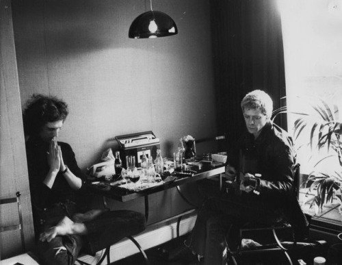The Real Mick Rock Happy Birthday to my dear friend Lou Reed. Gone but forever...