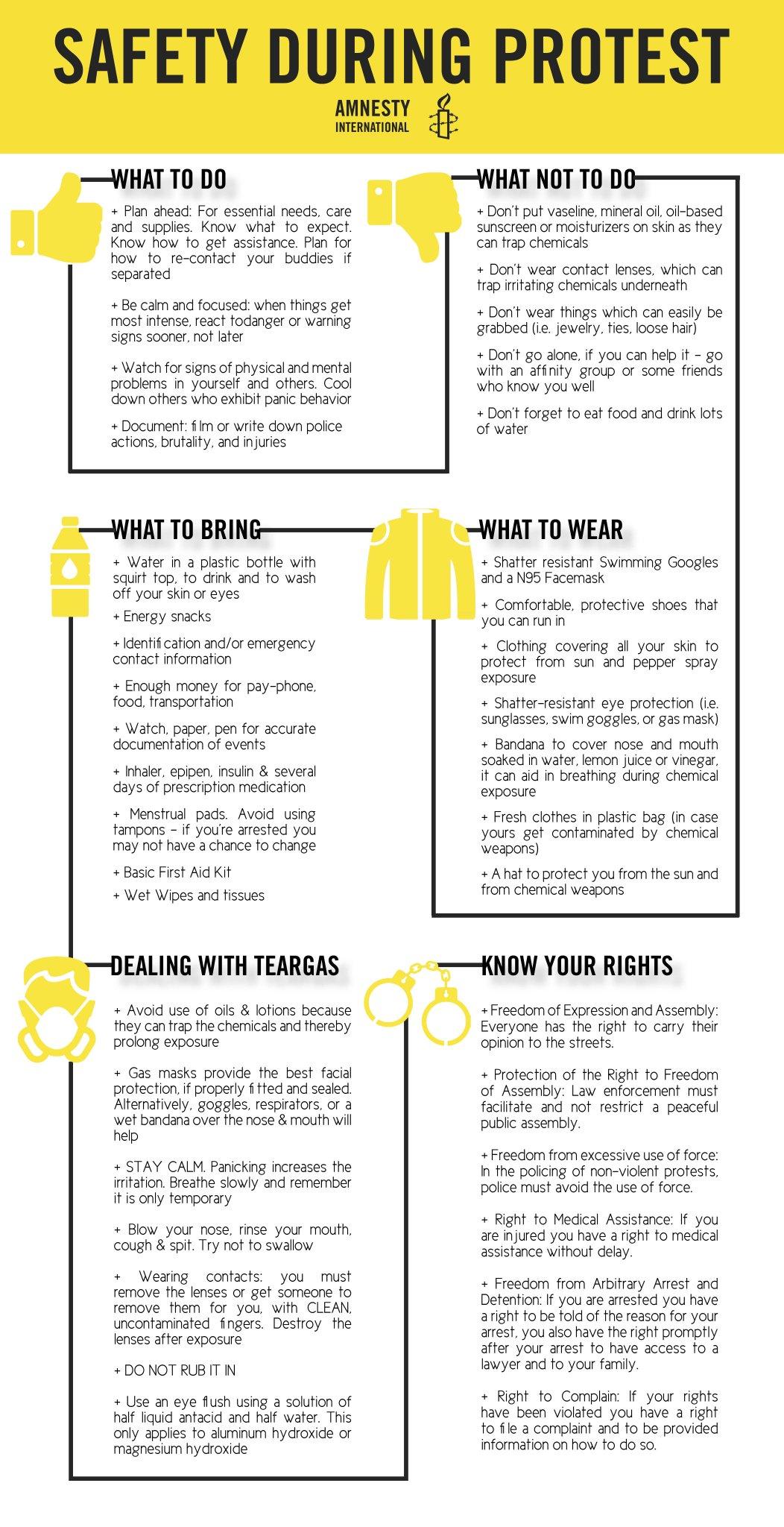 "Amnesty International USA on Twitter: ""Getting ready for ..."