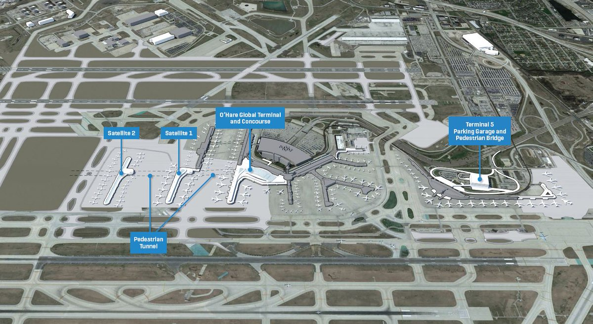 O Hare Intl Airport On Twitter Quot 8 5 Billion Expansion