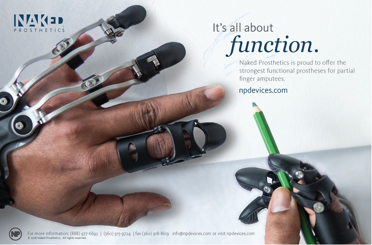 Naked Prosthetics On Twitter Its All About Function Npdevices