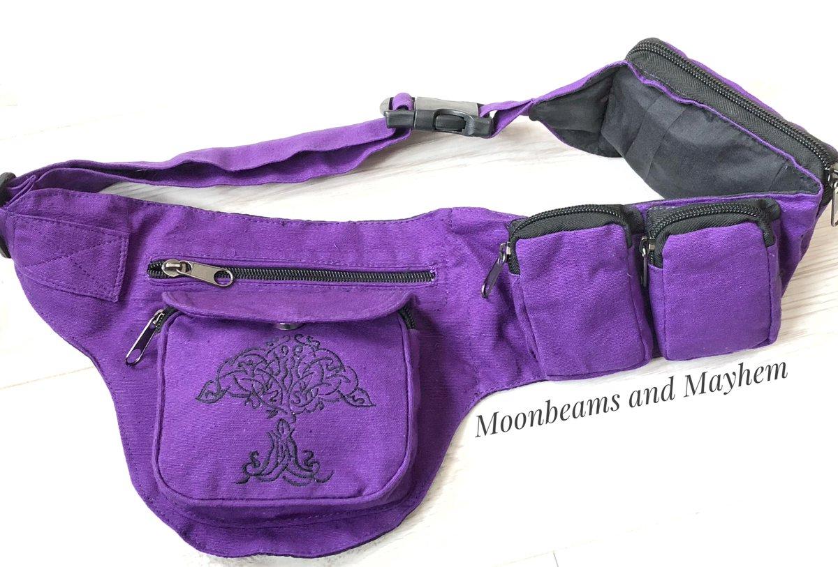 Moonbeams Mayhem On Twitter Fabulous Purple Waist Money Belt Https T Co O87jysgxkn Hippie Hippy Yoga Pagan Treeoflife Tapestry