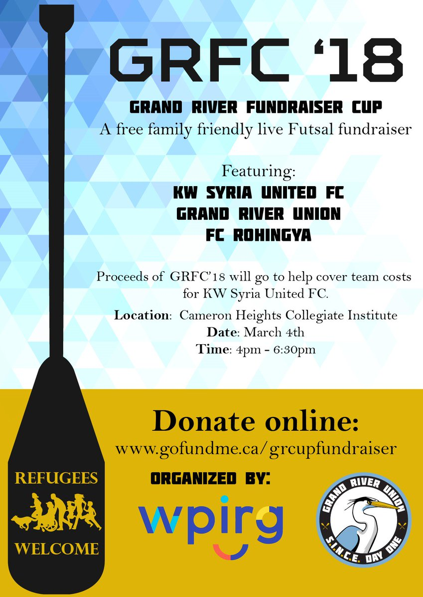 GFRC '18 | Grand River Fundraiser Cup