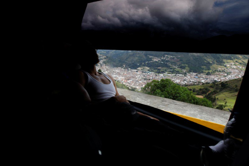We accompanied Venezuelan migrants as they traveled by bus from Caracas to Chile. Our story, with pics by @carlosrawlins, of nine days on the road: http://reut.rs/2oJ0ZH6